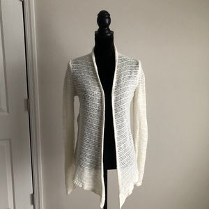 Abercrombie & Fitch open front cardigan (M)